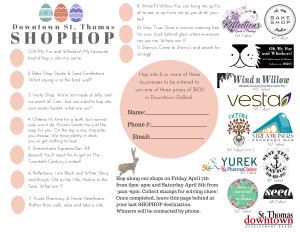 SHOP HOP PASSPORT